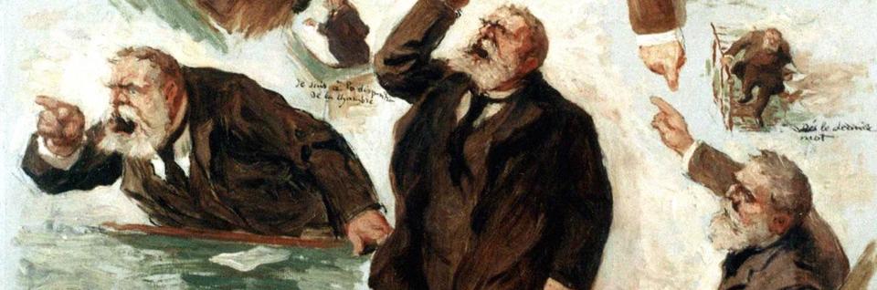 Jaurès, par E.Vincent (1910)