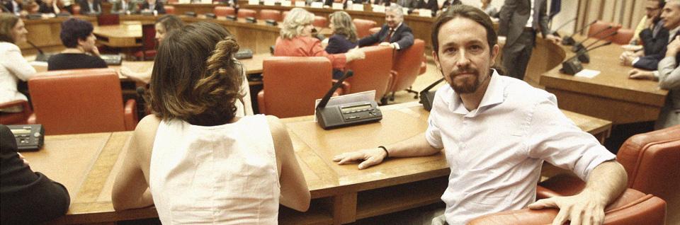 Pablo Iglesias, de Podemos (EP)