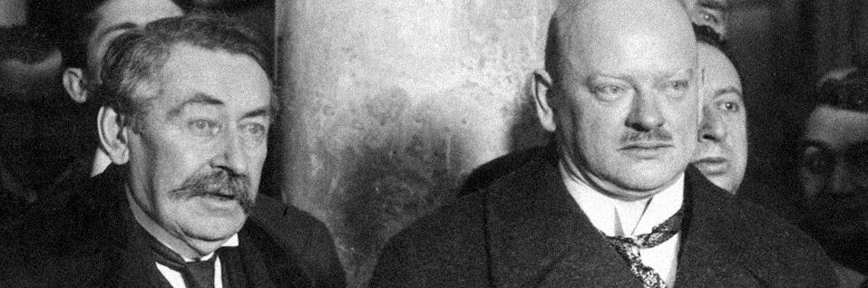 Aristide Briand (à gauche), 1926, Dutch National Archives