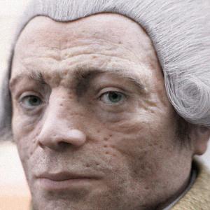 Le regard est dur, la mâchoire carrée et le visage marqué par les ravages  de la variole. C\u0027est l\u0027aspect que présente le visage de Robespierre,