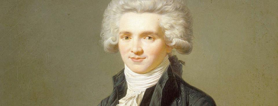 Maximilien Robespierre en habit de député du Tiers État, d\u0027après Adélaïde  Labille,Guiard, par Pierre Roch Vigneron (1789,1872).